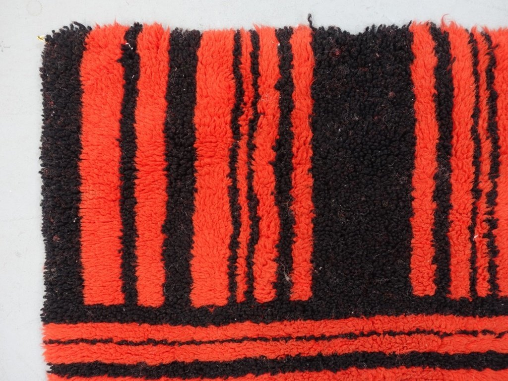 Mid Century Modern Shag Small Carpet - 3