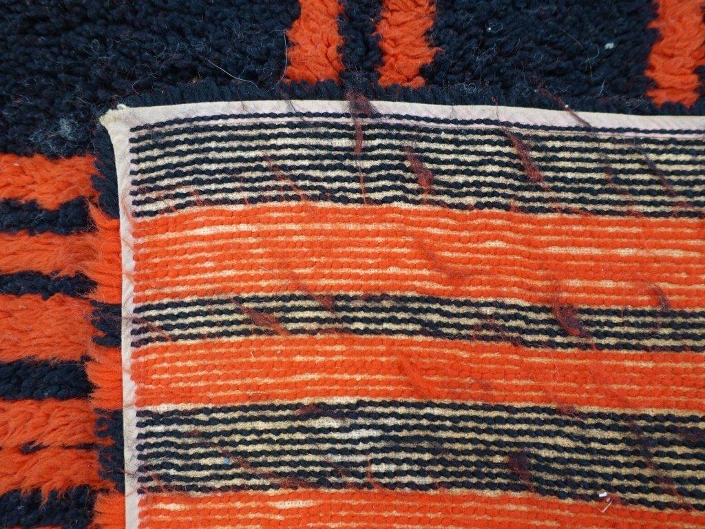 Mid Century Modern Shag Small Carpet - 4