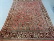 Large Room Size Persian Sarouk Rug