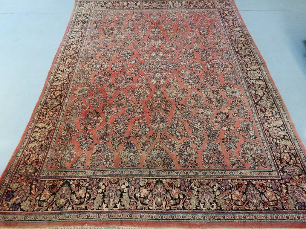 Large Room Size Persian Sarouk Rug