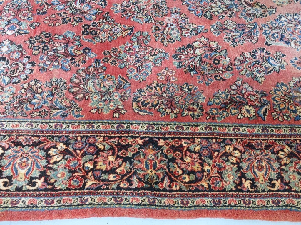 Large Room Size Persian Sarouk Rug - 5