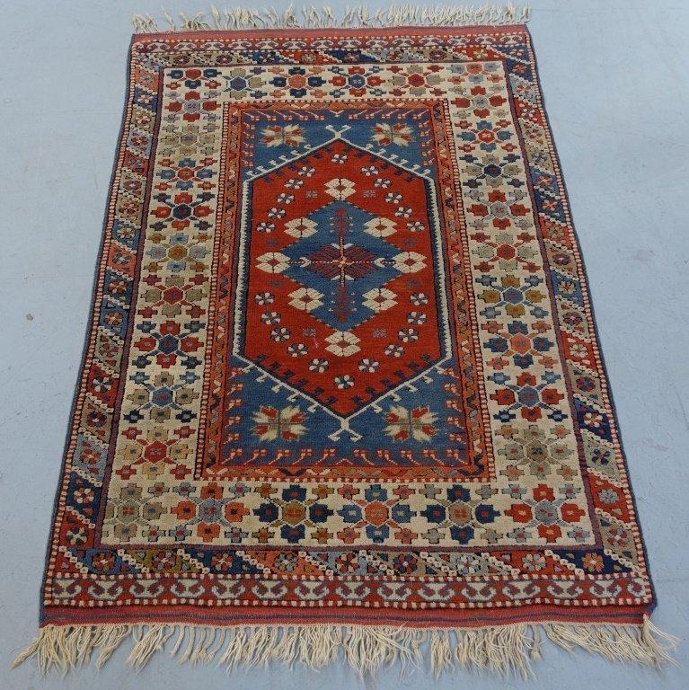 Persian Kazak Earth Tone