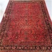 Persian Oriental Sarouk Room Size Carpet Rug