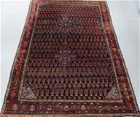 Antique North Persian Oriental Carpet Rug