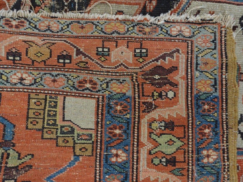 Oriental Heriz Serapi Pattern Rug - 7