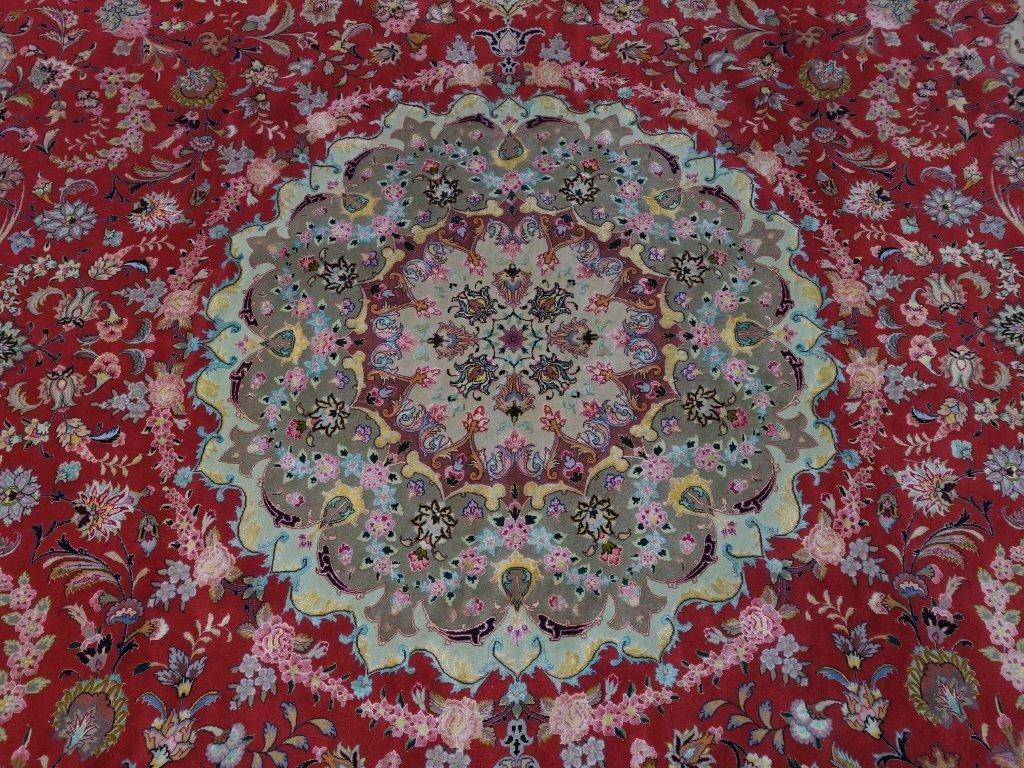 Persian Handmade Tabriz Oversized Room Rug - 2