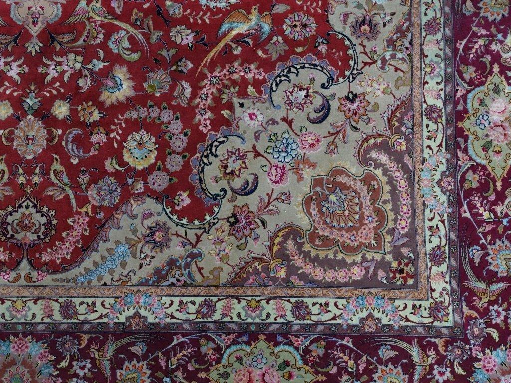 Persian Handmade Tabriz Oversized Room Rug - 3