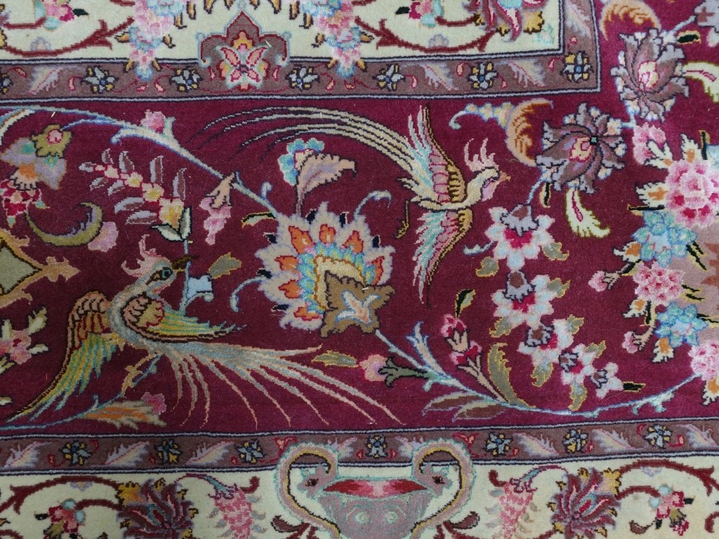 Persian Handmade Tabriz Oversized Room Rug - 4