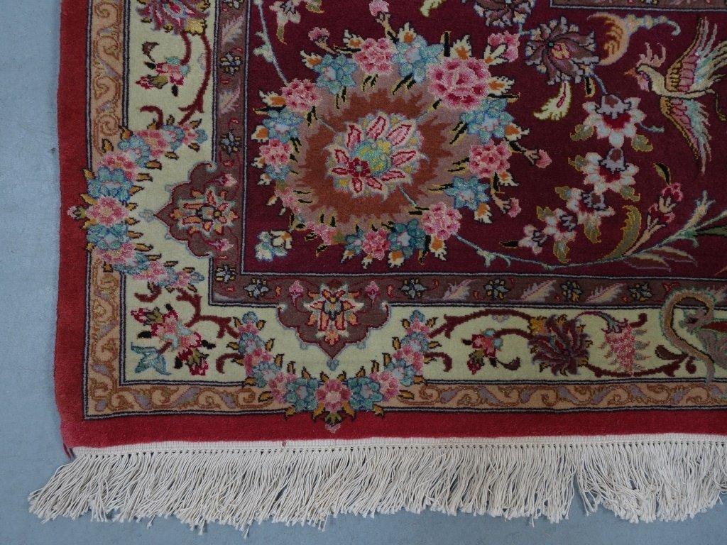 Persian Handmade Tabriz Oversized Room Rug - 5