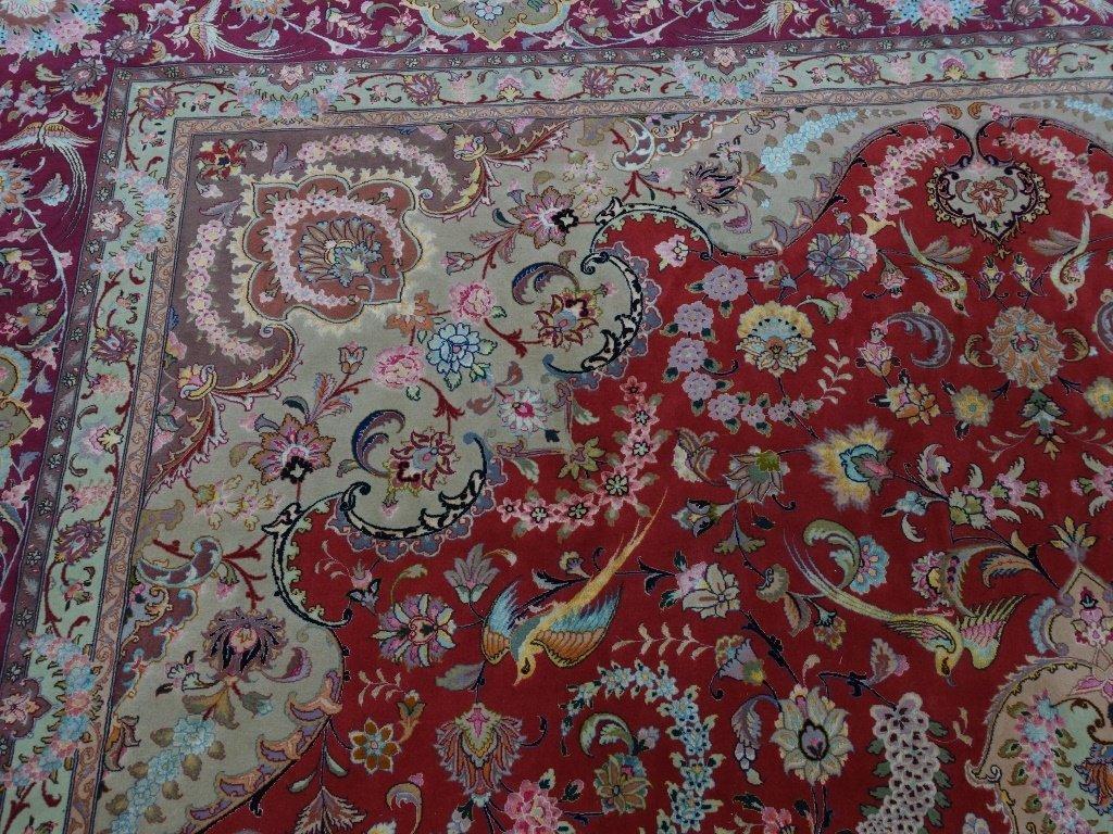 Persian Handmade Tabriz Oversized Room Rug - 6