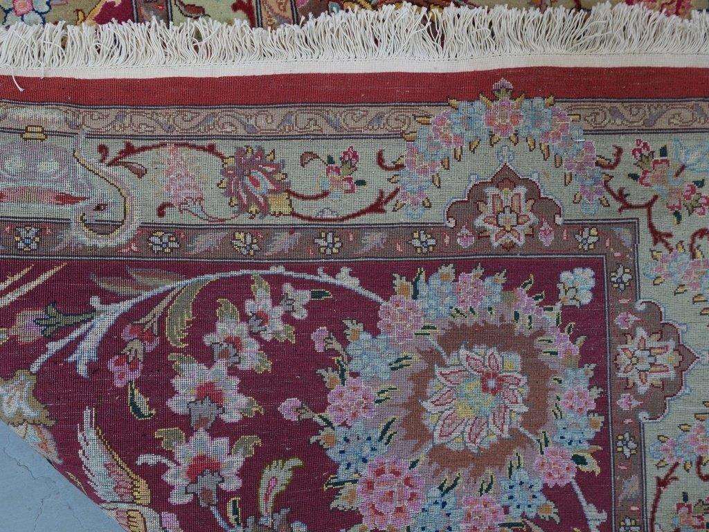 Persian Handmade Tabriz Oversized Room Rug - 7