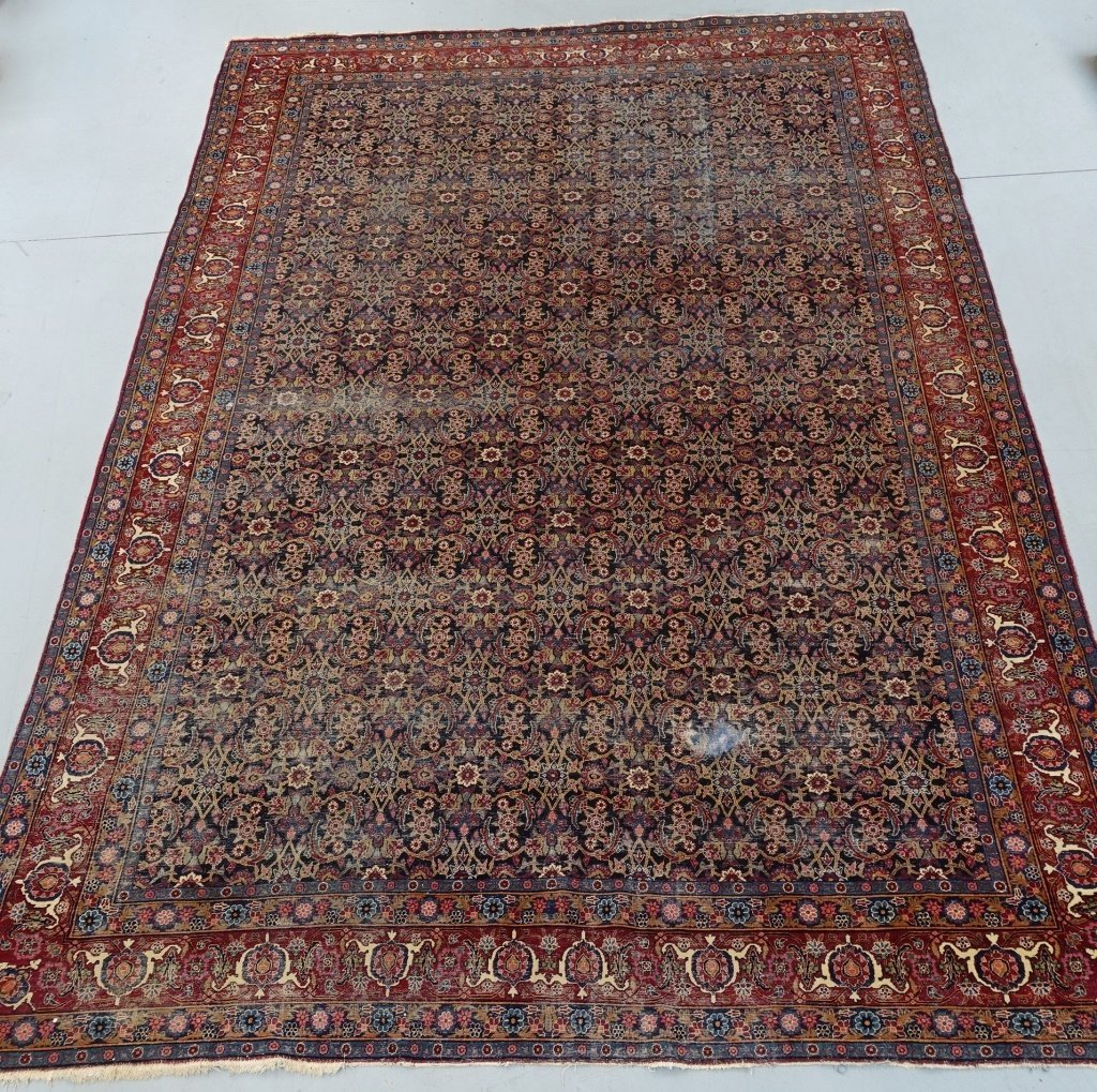 Antique Persian Room Size Carpet Rug