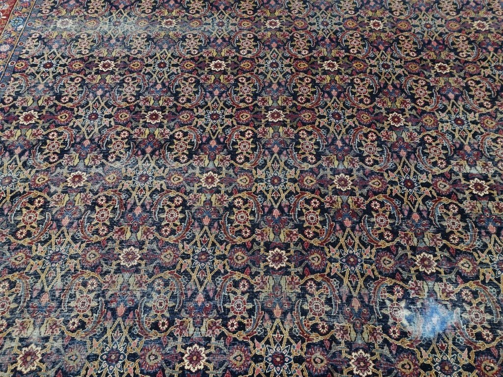 Antique Persian Room Size Carpet Rug - 2