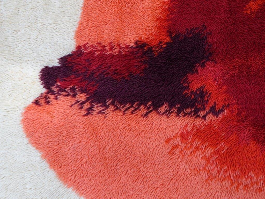 Mid Century Modern Shag Carpet Rug - 3