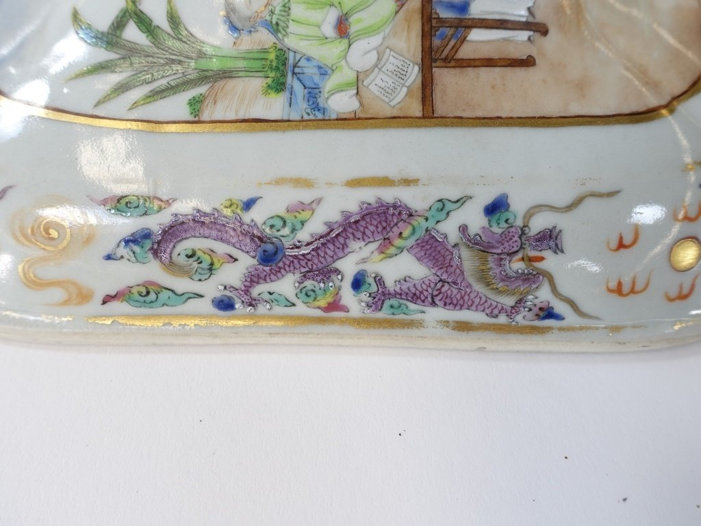 Chinese Mandarin Famille Rose Porcelain Tureen - 6