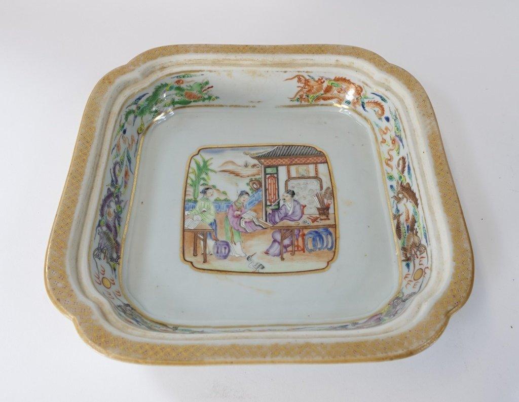 Chinese Mandarin Famille Rose Porcelain Tureen - 7