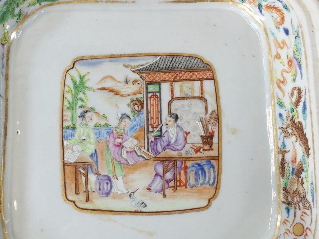 Chinese Mandarin Famille Rose Porcelain Tureen - 8