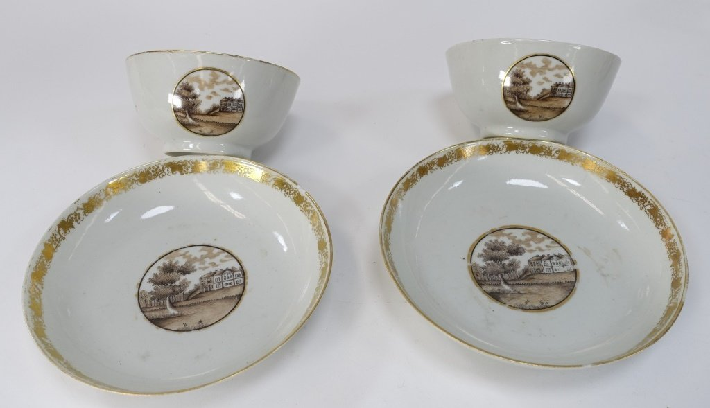 Chinese Export Porcelain Estate Grouping - 9