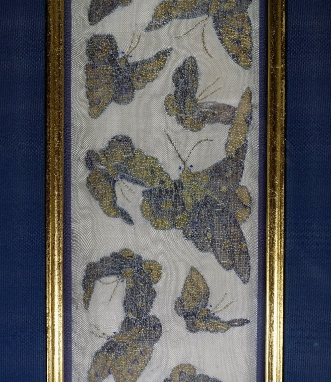 Chinese Qing Dynasty Kesi Butterfly Textile - 2