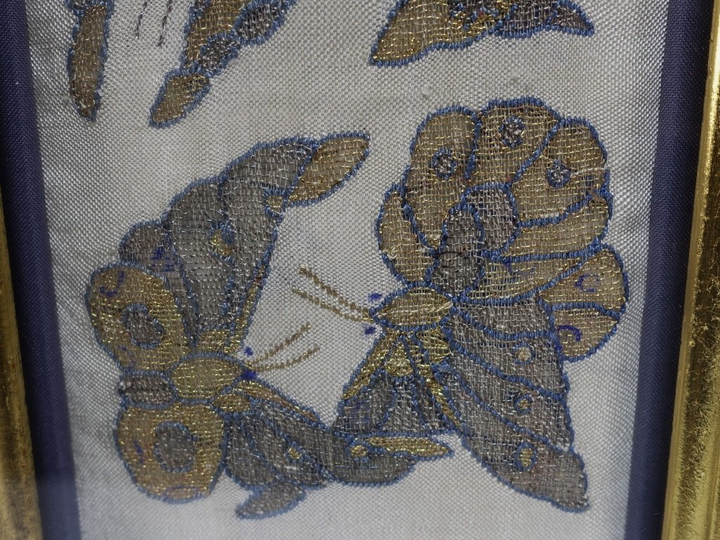 Chinese Qing Dynasty Kesi Butterfly Textile - 3