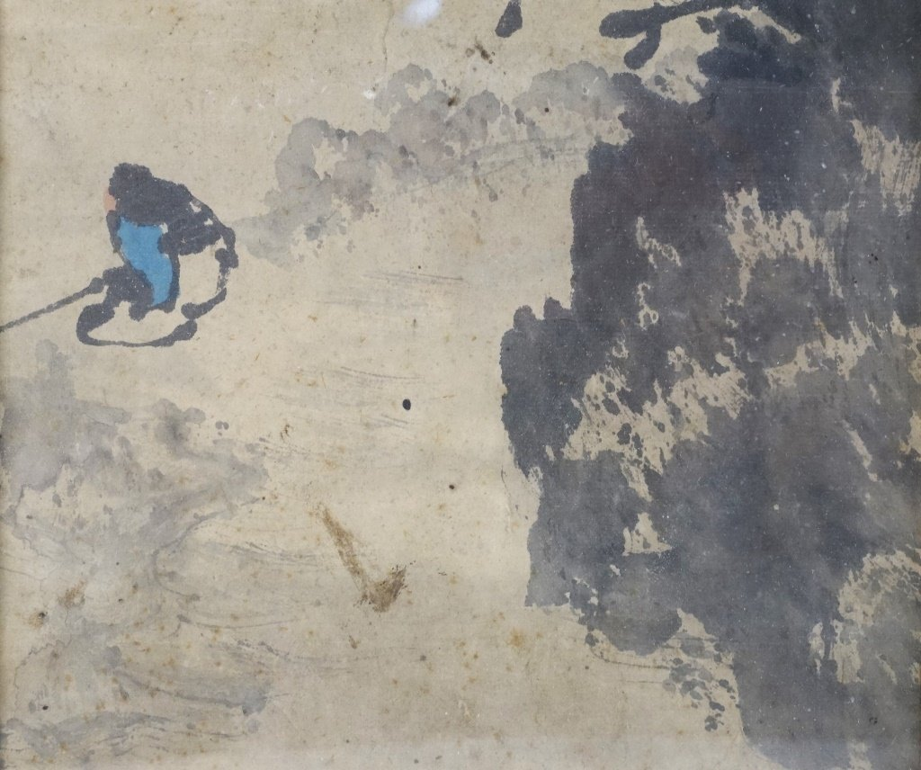 Chinese Painting of Landscape and River - 4