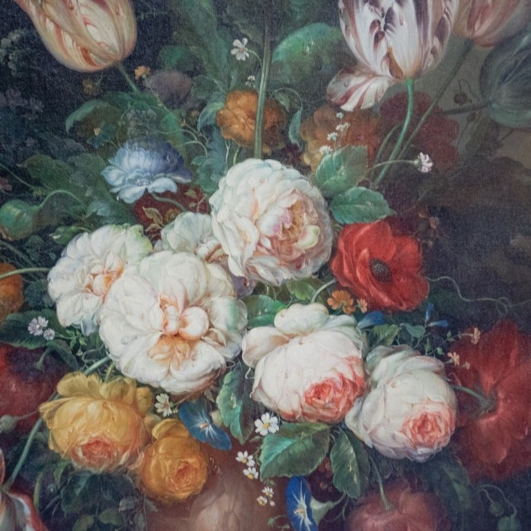 Francois Gabriel Botanical Painting of Flowers - 2