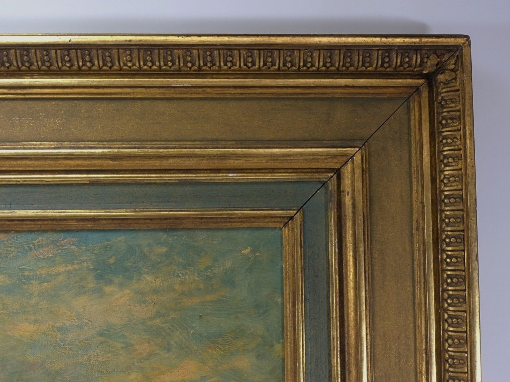Lucien Powell Grand Canal Venetian Scene Painting - 7