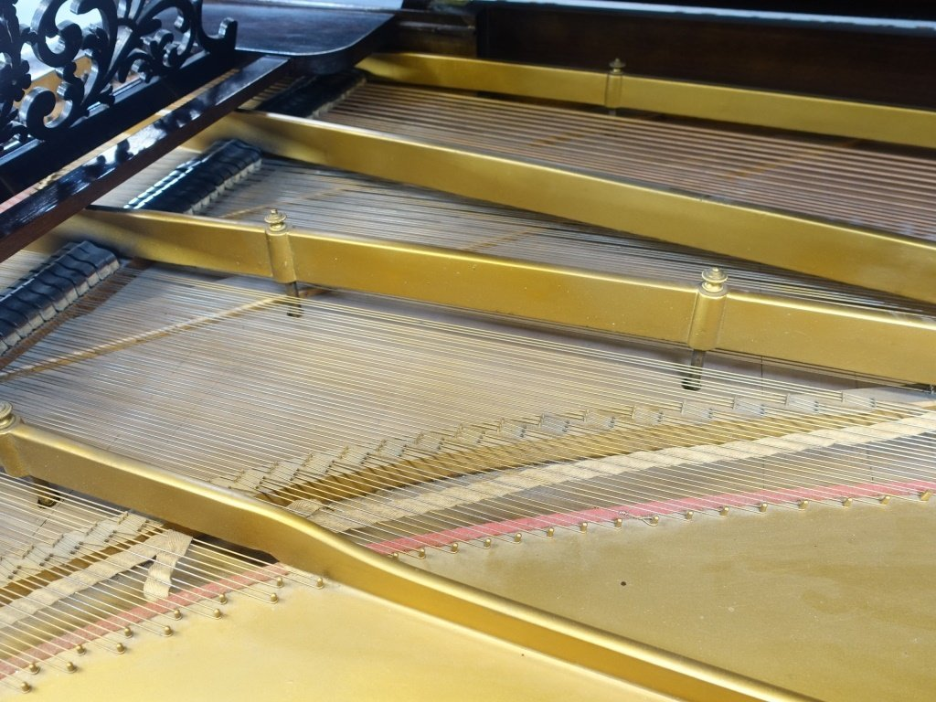 Antique 1860 Steinway Rosewood Concert Grand Piano - 3