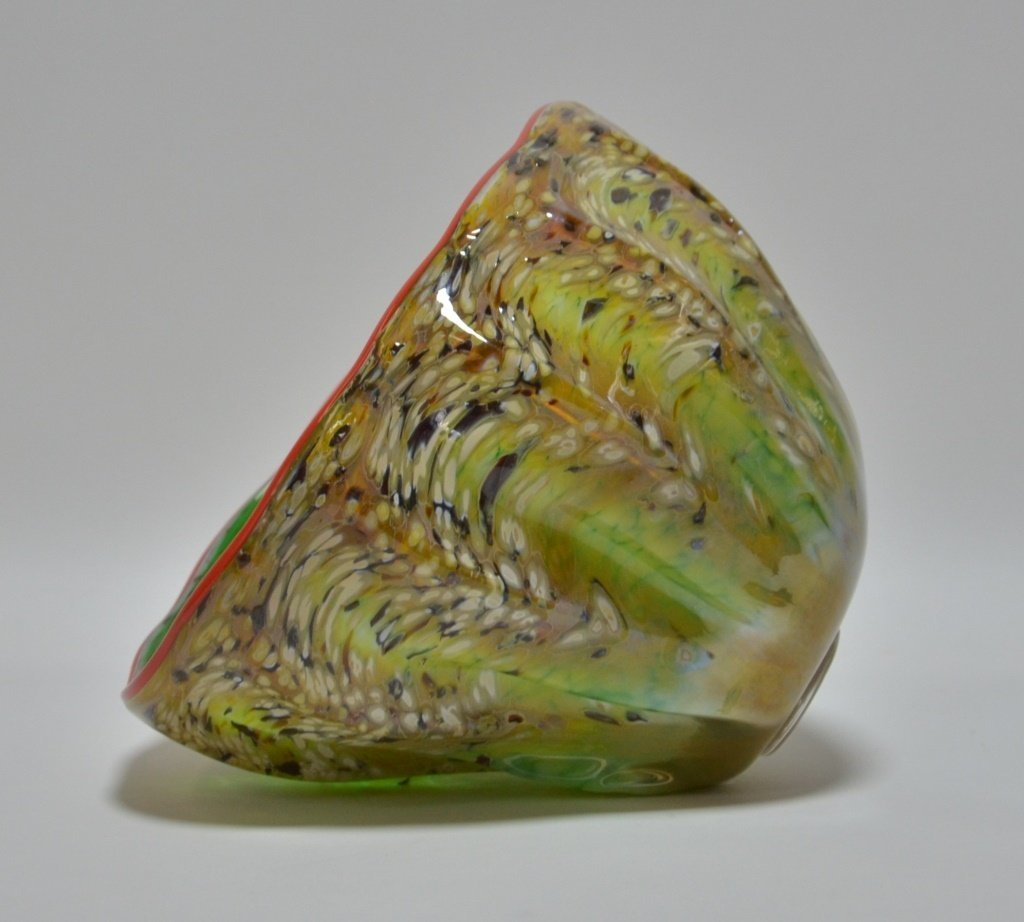 Dale Chihuly Macchia Abstract Art Glass Bowl - 3