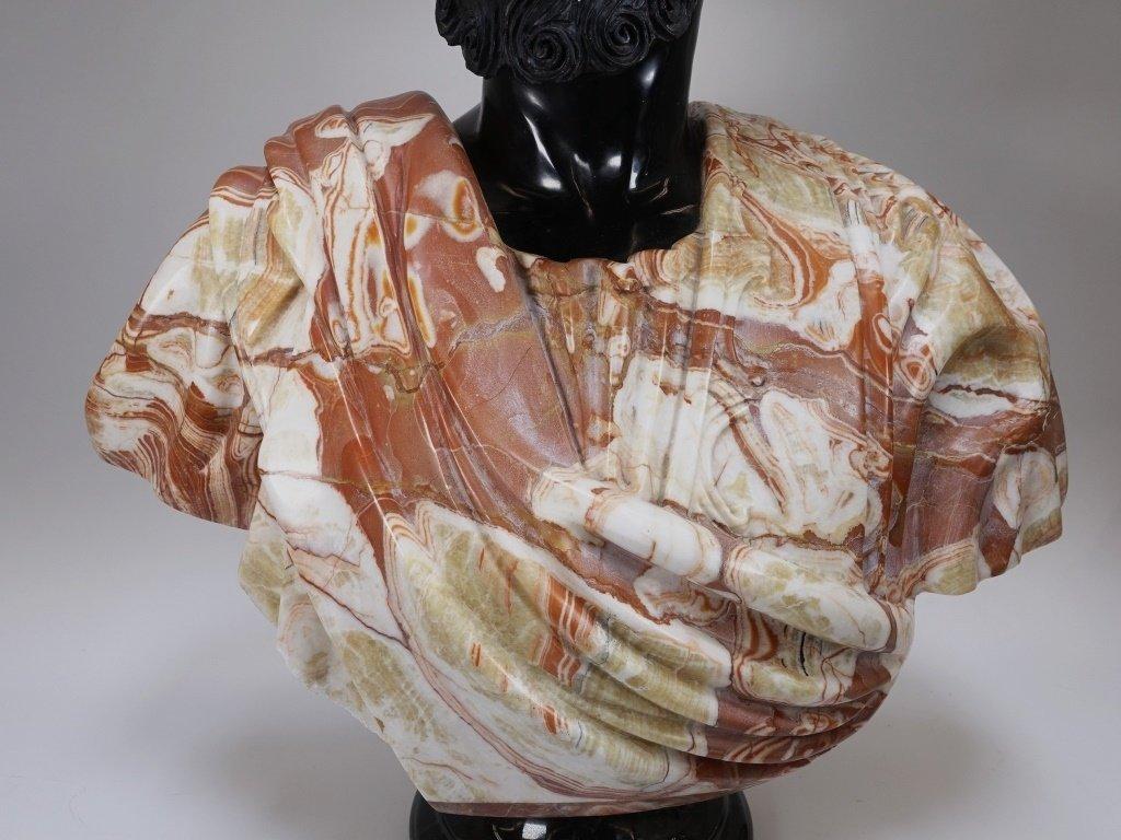 LG Continental Stone Sculpture of Orientalist Man - 3