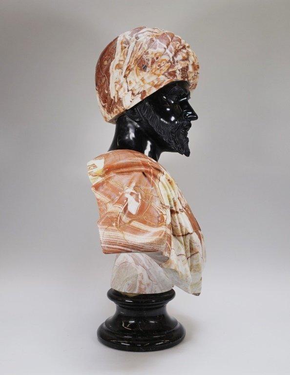 LG Continental Stone Sculpture of Orientalist Man - 4