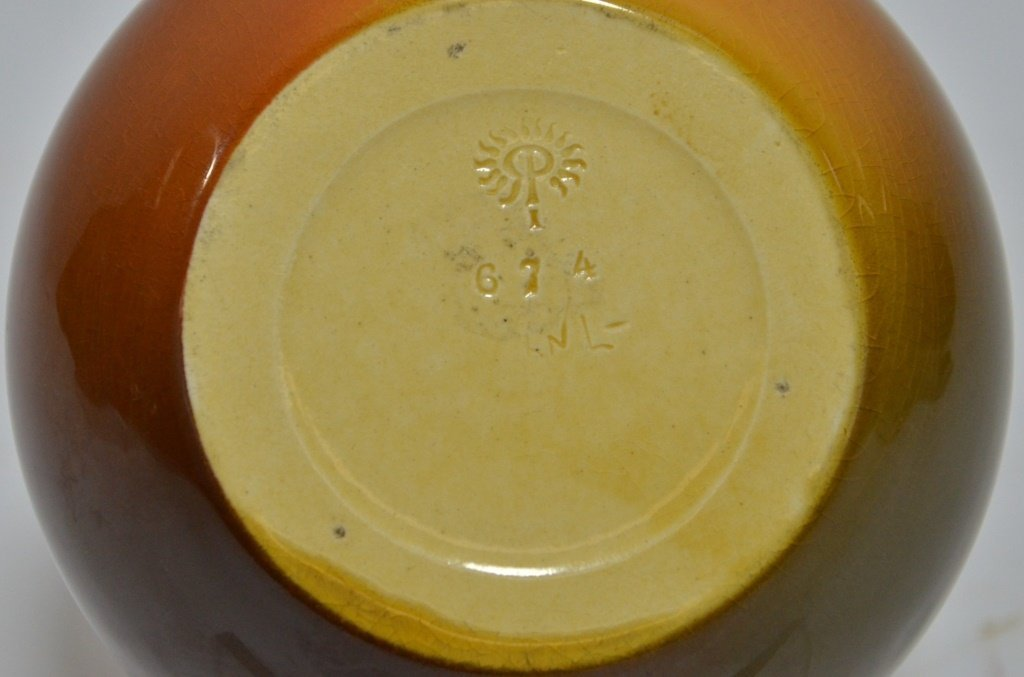 1901 Elizabeth Lincoln Rookwood Pottery Cherry Jug - 6