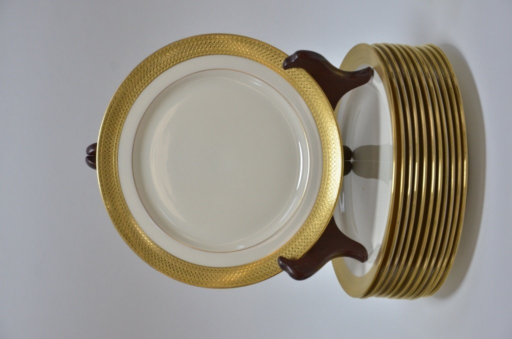 Estate Porcelain Plates Cauldon Tiffany Co. Lenox - 4