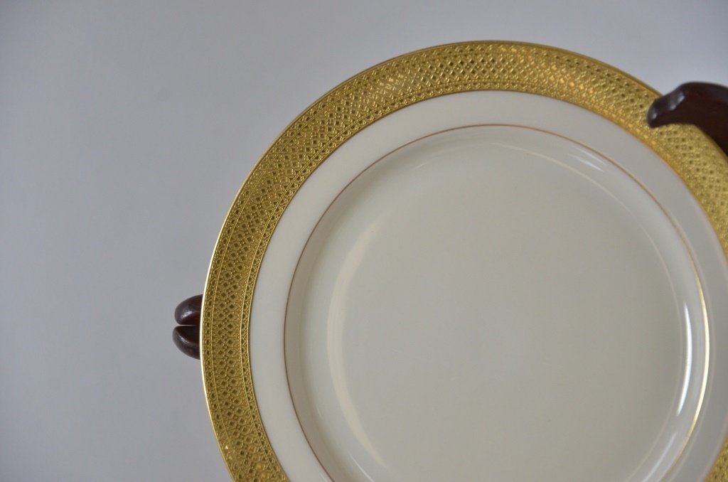 Estate Porcelain Plates Cauldon Tiffany Co. Lenox - 5