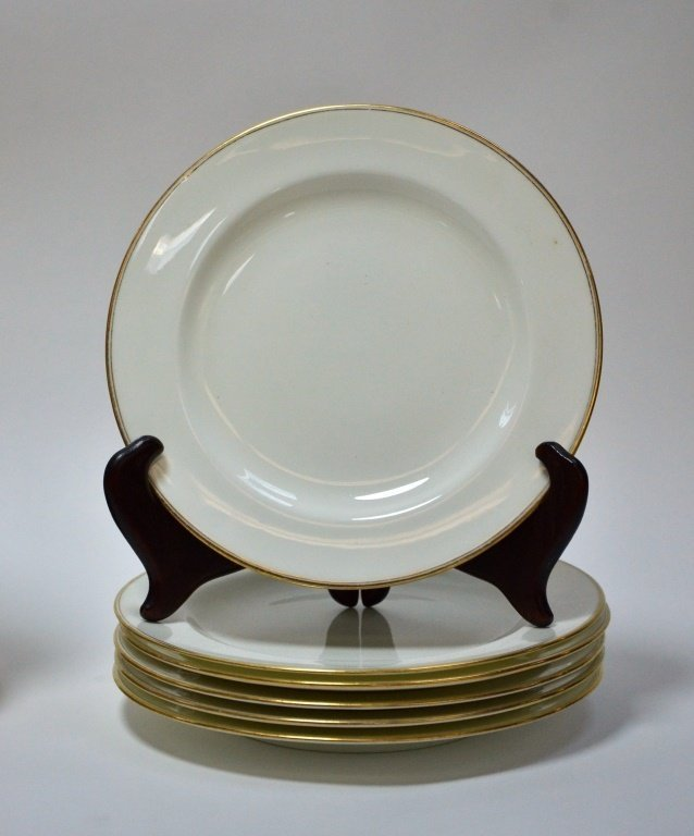 Estate Porcelain Plates Cauldon Tiffany Co. Lenox - 6