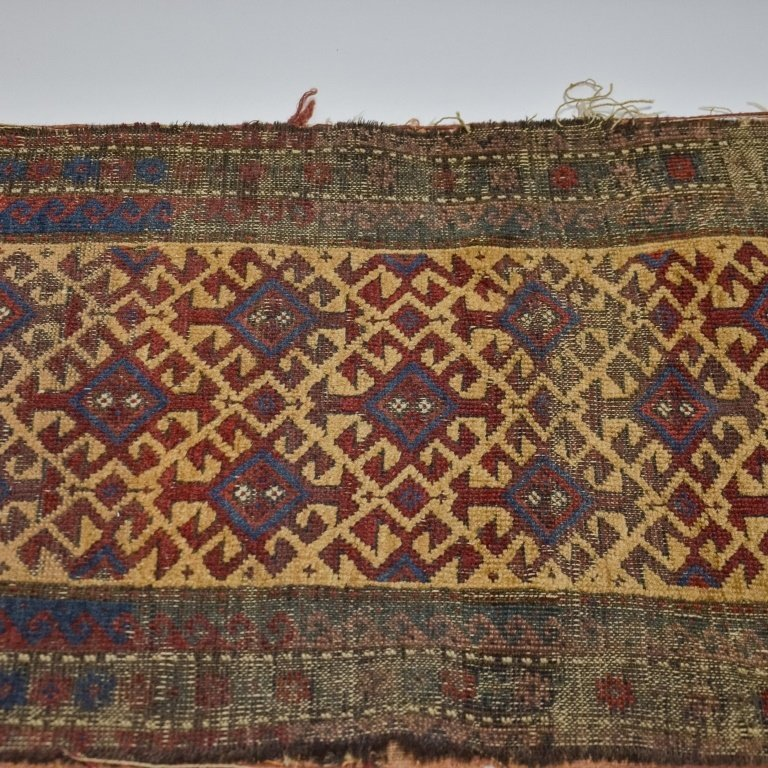 S.E. Persian Belouch Small Woven Bag Face Rug - 3