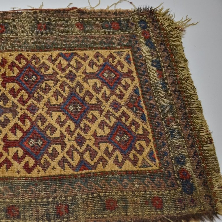 S.E. Persian Belouch Small Woven Bag Face Rug - 4