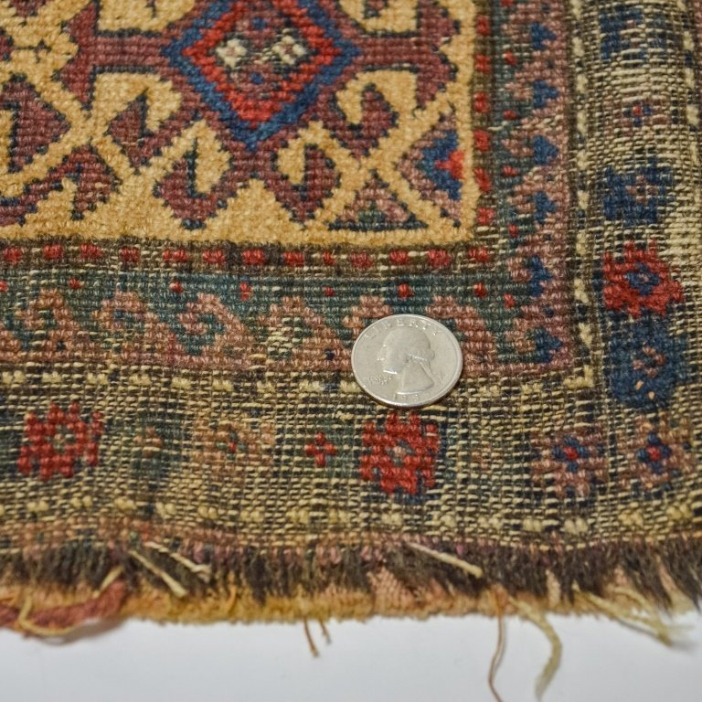 S.E. Persian Belouch Small Woven Bag Face Rug - 5