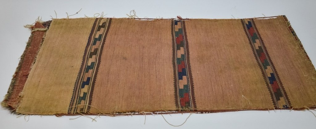 S.E. Persian Belouch Small Woven Bag Face Rug - 6