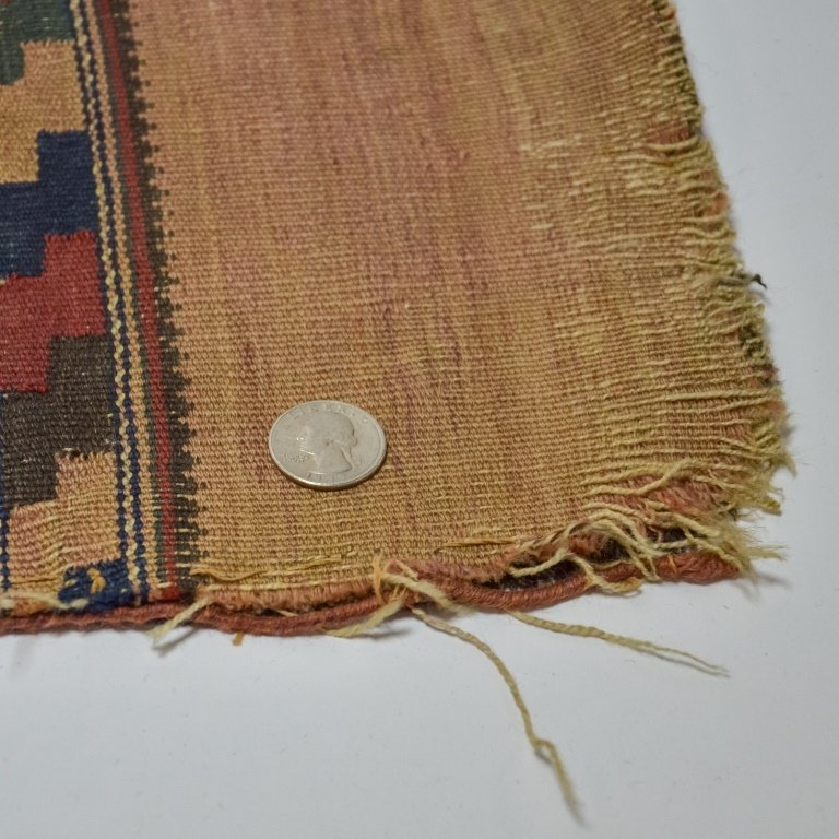 S.E. Persian Belouch Small Woven Bag Face Rug - 9