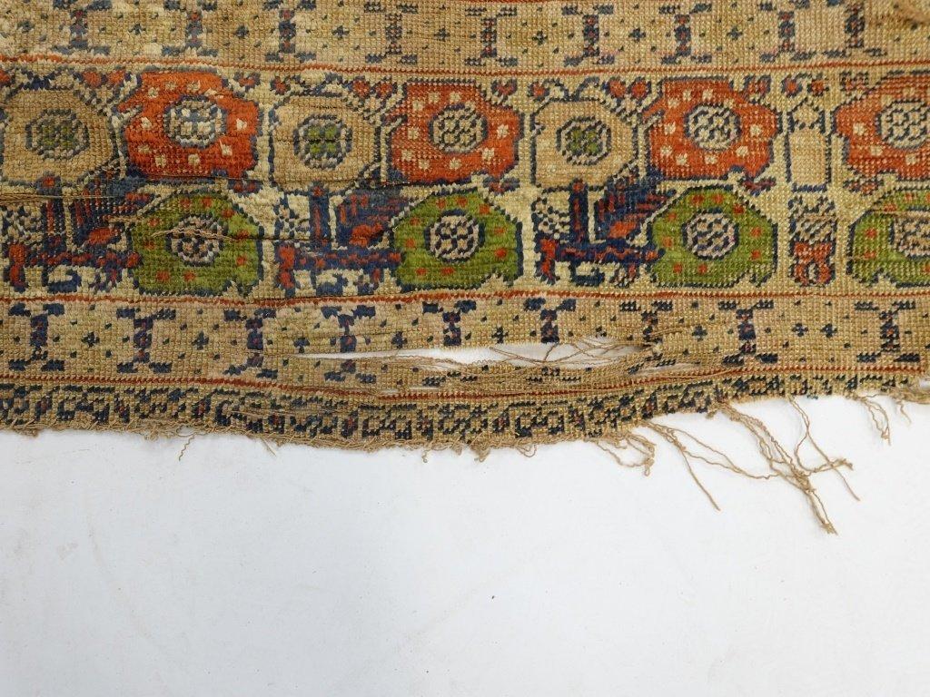 Antique 19C. Turkish Prayer Rug Carpet - 3