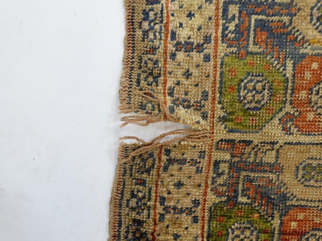 Antique 19C. Turkish Prayer Rug Carpet - 6
