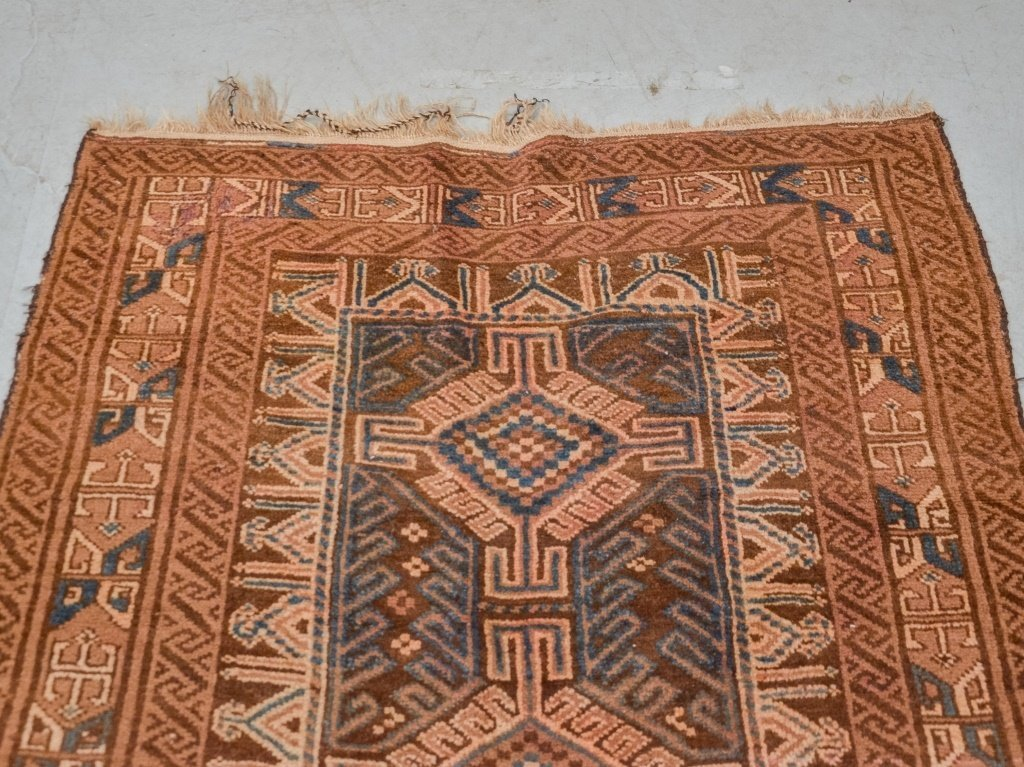 Geometric Afghanistan Afghan Tribal Carpet Rug - 2