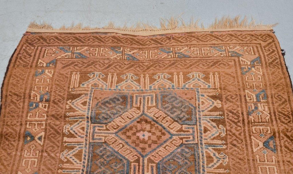 Geometric Afghanistan Afghan Tribal Carpet Rug - 3