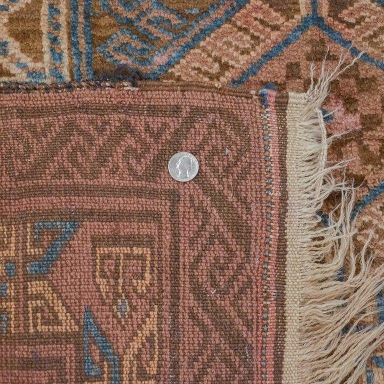 Geometric Afghanistan Afghan Tribal Carpet Rug - 4