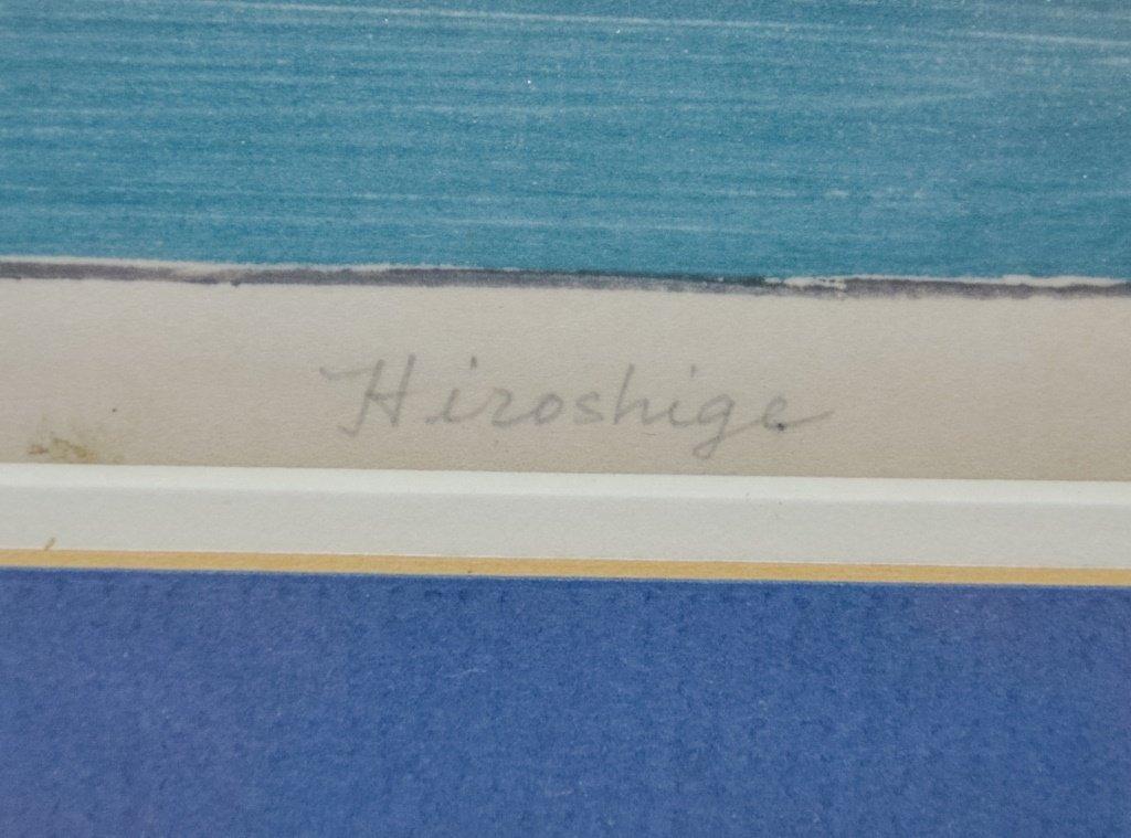 Hiroshige Woodblock Tokaido Highway Hamamatsu - 4