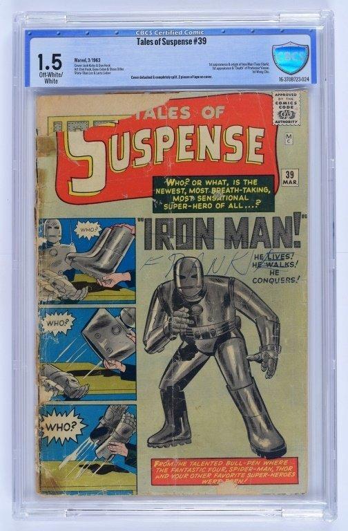 Marvel Comics Tales of Suspense No. 39 CBCS 1.5