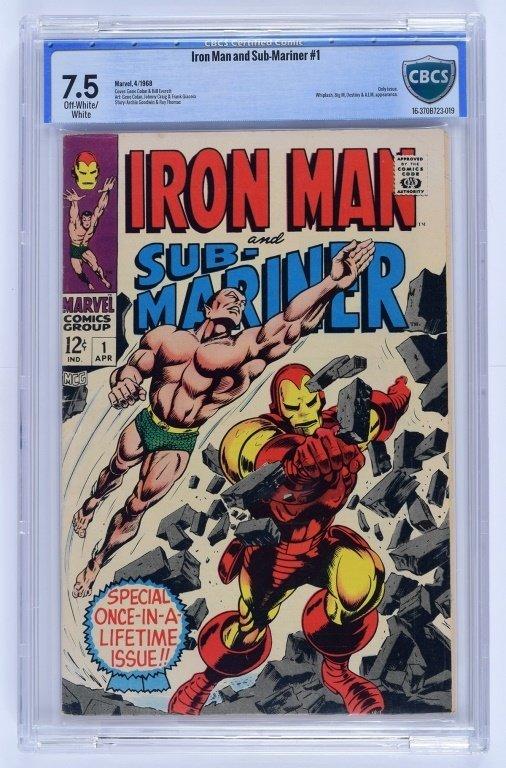 Marvel Comics Iron Man Sub-Mariner No. 1 CBCS 7.5
