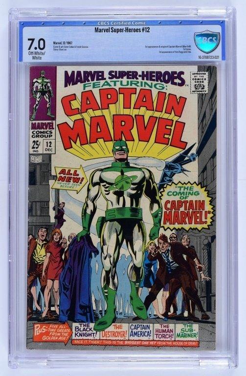 Marvel Comics Marvel Super-Heroes No. 12 CBCS 7.0
