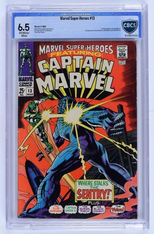 Marvel Comics Marvel Super-Heroes No. 13 CBCS 6.5